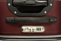 Travel bag with combination lock Royalty Free Stock Photos