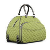 Travel bag with compartments. 3d rendering. Travel bag with compartments  on white background. 3d rendering Stock Images