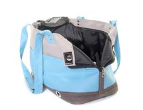 Travel bag for dogs Royalty Free Stock Image