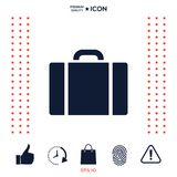 Travel bag icon. Signs and symbols - graphic elements for your design vector illustration