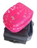 Travel bag. Isolated Royalty Free Stock Image