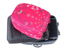 Travel bag. Isolated Stock Images