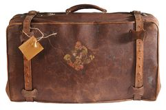 Travel Bag. Isolated Royalty Free Stock Photos