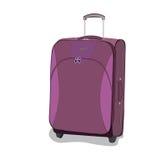Travel, bag, luggage, vector, flat style Stock Image