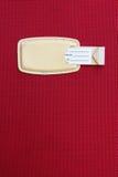 Travel bag tag Royalty Free Stock Photo
