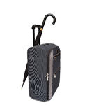 Travel bag and umbrella Royalty Free Stock Images