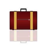 Travel bag vector art illustration Royalty Free Stock Photo
