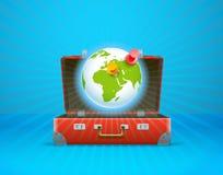 Travel bag vector illustration Stock Image