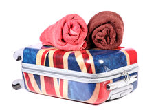 Travel baggage Stock Image