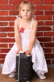 Travel ballet dancer Royalty Free Stock Photo