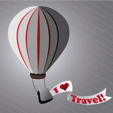 Travel ballon Stock Photography