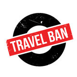 Travel Ban rubber stamp Royalty Free Stock Image
