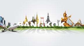 Travel in Bangkok, concept Royalty Free Stock Photography