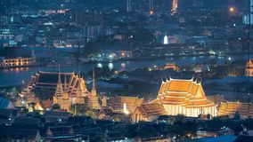 Travel Bangkok Wat Pho, also spelt Wat Po, is a Buddhist temple. Complex in the Phra Nakhon District, Bangkok, Thailand Royalty Free Stock Photos