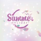 Travel banner summer holidays Royalty Free Stock Photos