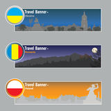 Travel banners Royalty Free Stock Photo