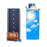 Travel Banners Vertical Royalty Free Stock Photo