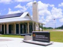 Travel-Battlefields-Chalmette Battlefield Placard and Visitors Center. Travel-Battlefields-Chalmette Battlefield and Natinal Cemetary, Chalmette, Louisisan Royalty Free Stock Images