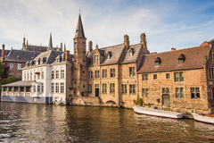 Travel Belgium Bruges Medieval Town Royalty Free Stock Photography
