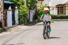 Travel by bicycle Royalty Free Stock Photo