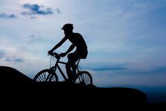 Travel by bicycle Royalty Free Stock Image