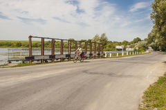 Travel by bicycles - Ukraine. Stock Photography