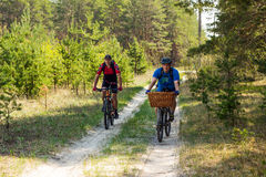 Travel by bike Royalty Free Stock Photos