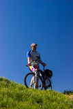 Travel by bike Royalty Free Stock Image