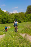 Travel by bike Royalty Free Stock Photography