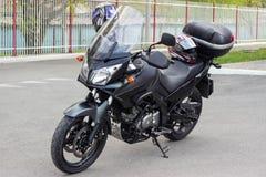 Travel by bike Stock Photo