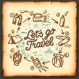 Travel blog, adventure blogging online Royalty Free Stock Photo