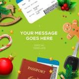 Travel blog concept, holiday blogging online Stock Images