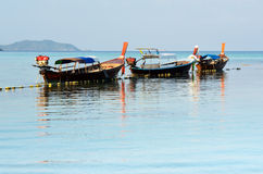 Travel boat on Andaman sea Royalty Free Stock Photos