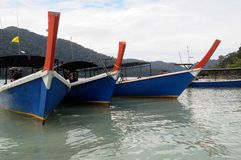 Travel boat on Andaman sea Stock Image