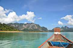 Travel by boat Royalty Free Stock Image