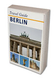 Travel Book Berlin. Imaginary travel book Berlin. on white royalty free stock images