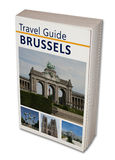 Travel Book Brussels Stock Images