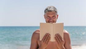 Travel book man Stock Photos