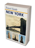 Travel Book New York Stock Photography