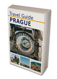 Travel Book Prague Stock Photo