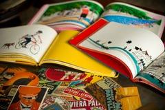 Travel books Stock Photos