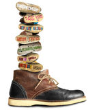 Travel, boot royalty free stock image