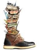 Travel, boot Stock Photos