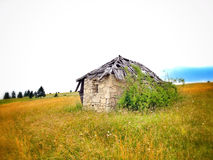Travel on Bosnian mountaine Stock Images