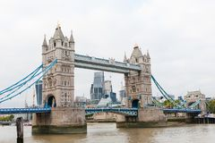 Travel Bridge London iconic symbol day view Stock Photography