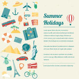 Travel brochure. Travel and tourism concept. Vector Stock Photos