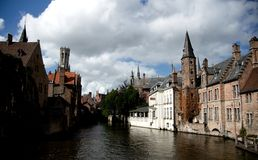 Travel in Brugge Stock Photo