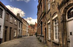 Travel in Brugge Royalty Free Stock Photography