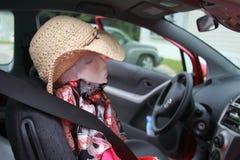 Travel buddy dummy woman Royalty Free Stock Photography