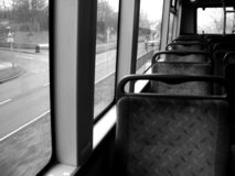 Travel On The Bus 3. This was shot on a 179 London Bus stock image